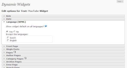 Widget Wordpress: cosa sono e come funzionano | Mr  Webmaster