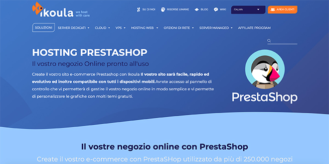 Shared Hosting Prestashop