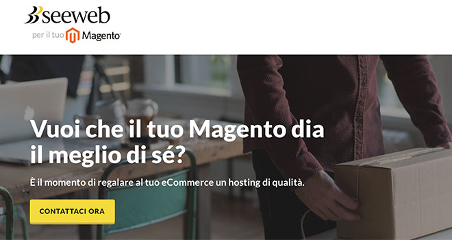 Seeweb Cloud Server per magento