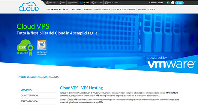 Aruba VPS by Cloud.it