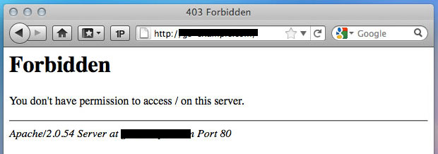 Errore 403: cos'è e come risolvere il problema di accesso